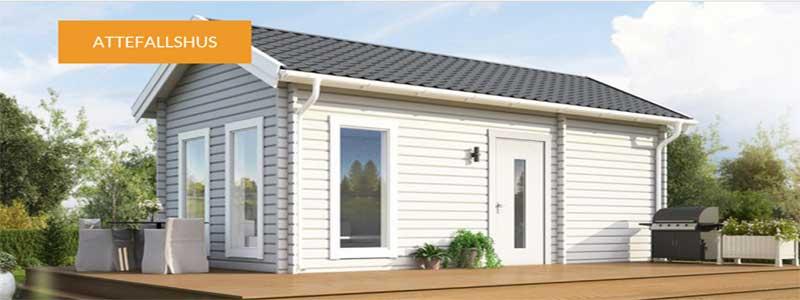 Attefallshus kan vara både gäststuga, ungdomsrum, sommarstuga eller fritidsboende