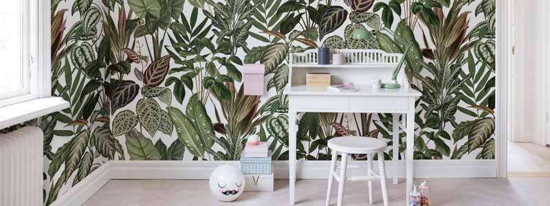 Färg, tapeter och mönster för vackrare hem