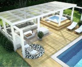 Plast tak för tex altan