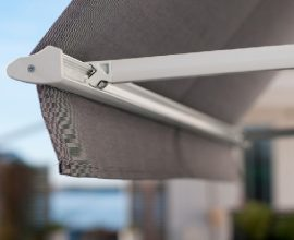 Skyddar utvändigt mot sol & värme