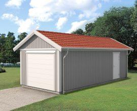 Garage att kombinera med förråd från vibo