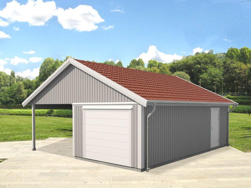 Vibostugan - vibo-garage-carport-644