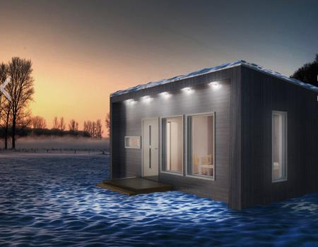 Attefallhuset - Modern loft 1