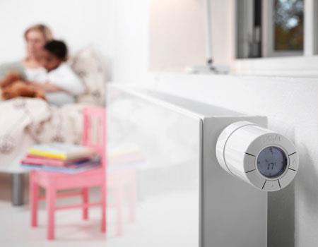 Danfoss - Radiatorer Värmereglering