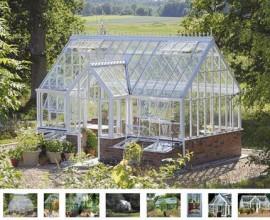 Växthus - Orangeri - uterum Från Vansta Trädgård
