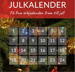 Julkalender Skånska byggvaror 2016