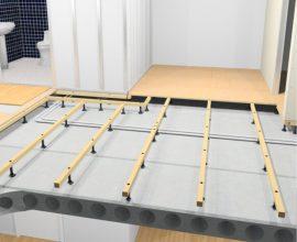 Regla uppför ett jämnt och snyggt golv -- Subfloor.