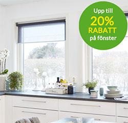Skånska Byggvaror Fönster till 20%