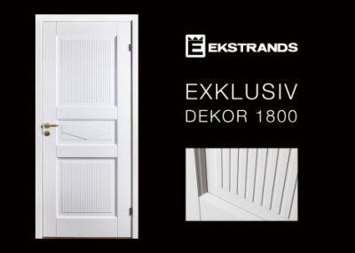 Ekstrands Exklusiv dekor ytterdörr