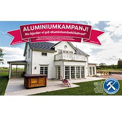 Kampanj på Villafönster med Aluminiumbeklädnad